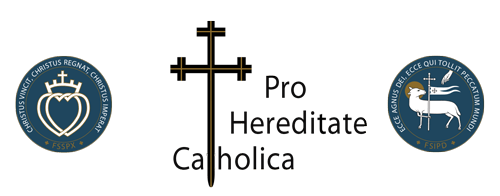 Pro Hereditate Catholica, click for home.